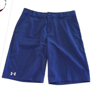 UnderArmour Cobalt Blue loose dress shorts sz XL
